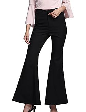 Mujeres Largo Pantalones de Cint