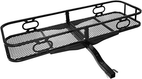 Zoom IMG-1 amazonbasics portabagagli posteriore per barra