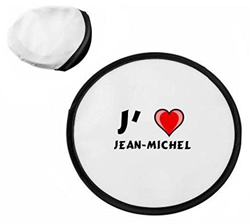 Frisbee personnalisé avec nom: Jean-Michel (Noms/Prénoms)