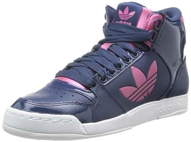 Adidas Originals Midiru Court 2.0 Damen Blau Hi-Tops Trainer Sneaker Schuhe 36