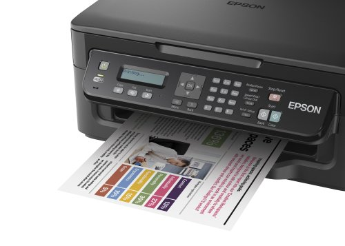 Epson WorkForce WF-2510WF Ultra Compact 4-in-1 Printer with Wifi