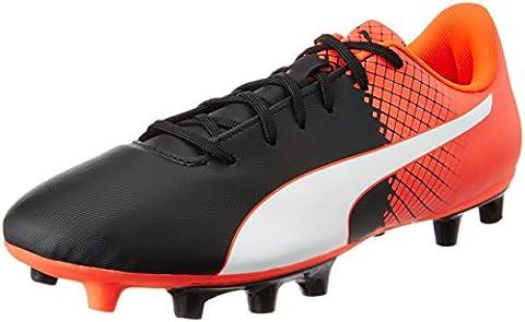 Puma Evospeed 5.5 Fg - Chaussures de Football - Homme - Noir (puma black-puma White-Red blast 03) - 42 EU (8 UK)