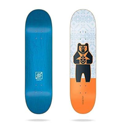 "Habitat Grizzly Logo Pricepoint 8.25"" Skateboard Deck"