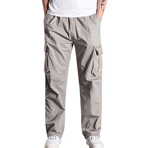 Loose Pants Herren Freizeit Laufen Trainingshose Cargo Hose Jogginghose Sweatpants Jogger Sports Fitnesshose Trekking Hosen Streetwear