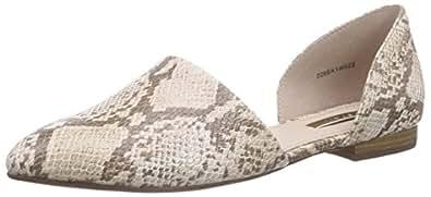 ESPRIT Women's Veruska Sandal Ballet Flats Beige Size: 6.5