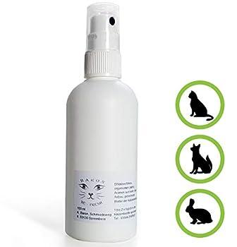 Spray désodorisant pour litière pour chat de Baron S, naturelles Désodorisant contre les taches d'urine Odeur, facile Nettoyant anwendbarer dans 30ml Bouteille à pompe