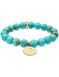 Elli Damen-Armband Festival-Armband mit Love-Schriftzug 925 Silber türkis - 0203951615