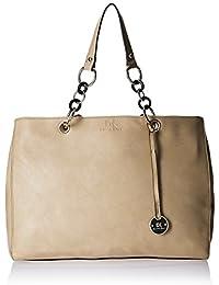 Diana Korr Women's Shoulder Bag Handbag (Beige) (DK37HAPR)