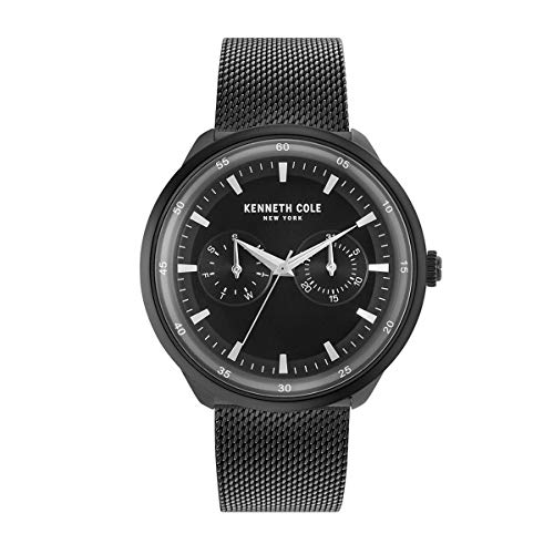 Kenneth Cole New York Reloj de Hombre Reloj de Pulsera Acero Inoxidable kc50577002