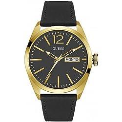 Guess Reloj analogico para Hombre de Cuarzo con Correa en Tela W0658G5