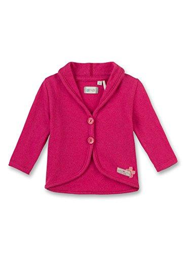 Sanetta Baby-Mädchen Strickjacke 113823, Rosa (Raspberry Pink 38035), 74