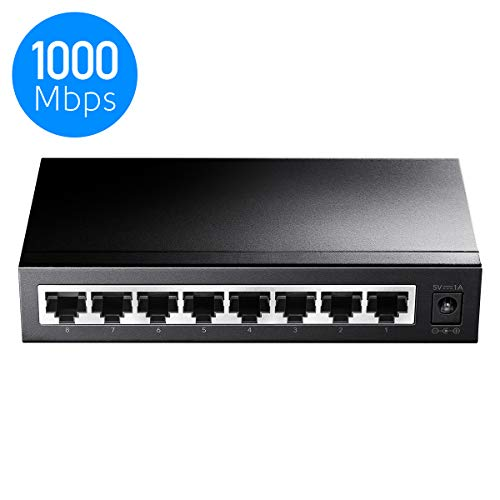 Cudy GS108 8-Port Gigabit Netzwerk Switch
