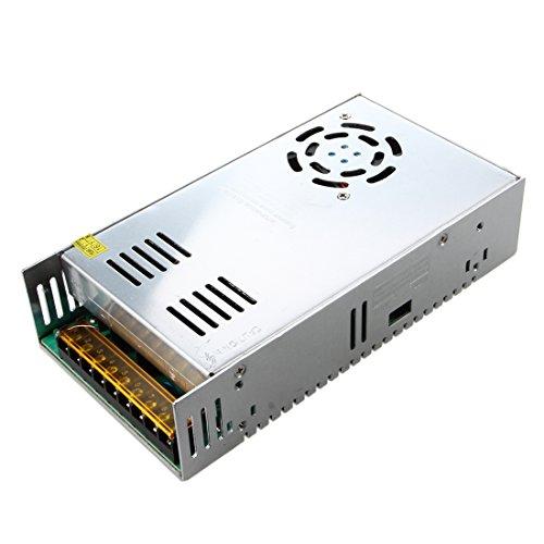 SODIAL(R) 400W Interruptor Unidad de potencia del controlador para la tira de luz LED de la CC 12V 33A