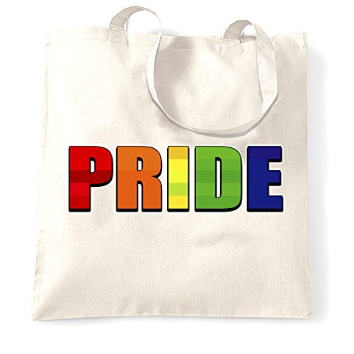 Gay Pride Lgbt Uomini Donne Print Design Support March Event Peace Carry Bag White