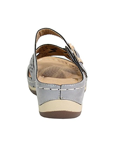 By Shoes , Zoccoli Donna Silver