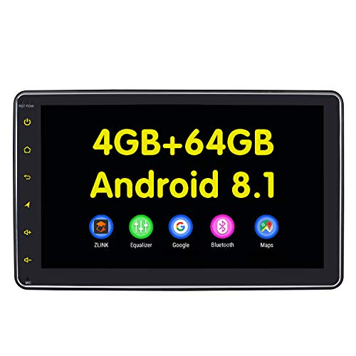 Car Electronics 2 Din Car Android 8.1 Ram 4g Rom 64g Radio Gps Navigation Bluetooth Universal 10.1 2 Din Screen Autoradio Zlink Built-in 4g Dsp Superior Materials Car Intelligent System
