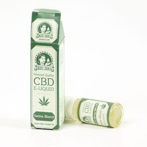 Sensi Seeds liquido para cigarrillo de vapor 50mg CBD