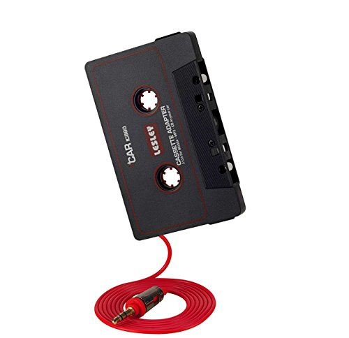 Autoradio Kassetten Adapter Car Tape 3,5 mm AUX Kabel für iPhone, Samsung, Sony, Huawei, iPod, MP3-Player, LG, HTC, Smartphones von - Mp3 Apple Ipod