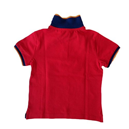 K-WAY POLO SHIRT GELBE, Herren. RED