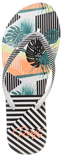 Roxy Portofino II, Zapatos Playa Piscina Mujer, Teal