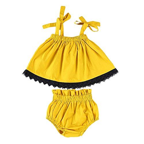 Gprince Baby Mädchen (0-24 Monate) Spieler, gelb