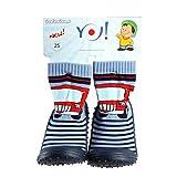 Kinder Haussocken Socken mit Gummisohle Auto OB-002 Gr. 26