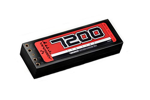 Absima 41500034150003 Car/RC Auto Lipo Stick de batería Pack 7.4V de 110C 7200Hardcase (Double Tubes), Multicolor