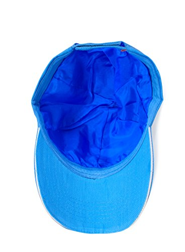 White Lotus Anti Aging 100% Pure Silk Cap / Baseball Cap To Prevent Hair Loss, The Silk Hats Make Ideal Hair Loss Hats and And Also Prevent Frizzy Hair, Hair Loss Prevention For Men and Women - Blue