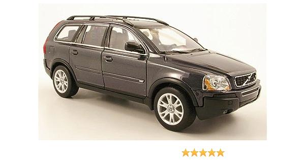 Volvo Xc90 Met Dkl Grau Modellauto Fertigmodell Welly 1 24 Spielzeug