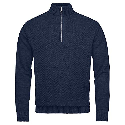 Kjus Herren Skipullover Midlayer LINARD KNIT MS25-C01.70100 blau Gr.50