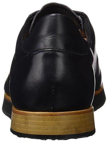 Neosens S499 Restored Skin Ebony Greco, Chaussures Derby Homme Noir (Ebony)