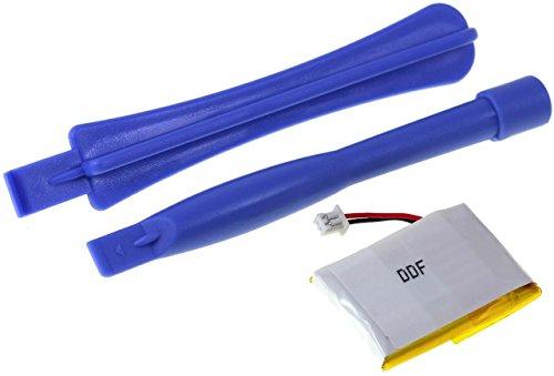 Batteria compatibile per Plantronics CS55, Li-Polymer, 240mAh,
