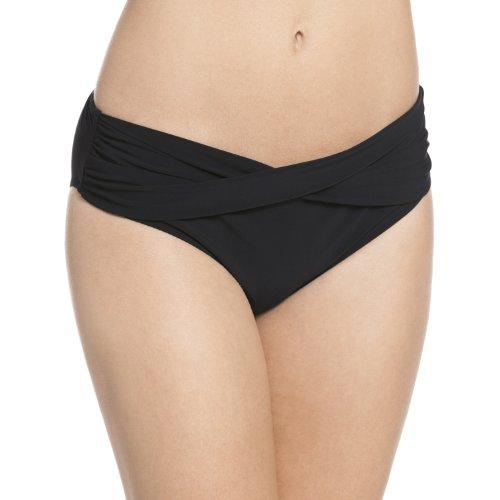 Rosa Faia Damen Liz Bottom Bikinihose, Schwarz (Schwarz 001), (Herstellergröße: 44)