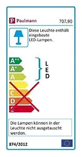 Paulmann Wandlampe für attraktive Lichtakzente im Innenbereich