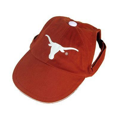 Sporty K9 Collegiate Texas Longhorns Dog Cap, Small - New Design