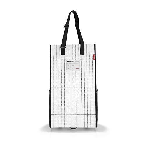 reisenthel urban rollshopper amsterdam black & white Maße: 34 x 63 x 23 cm / Volumen: 33 l