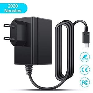 Netzteil für Switch, Ladegerät für Switch Ladekabel 1.5m PD Typ-C Reise Ladegerät Charger für Switch / Switch Lite…