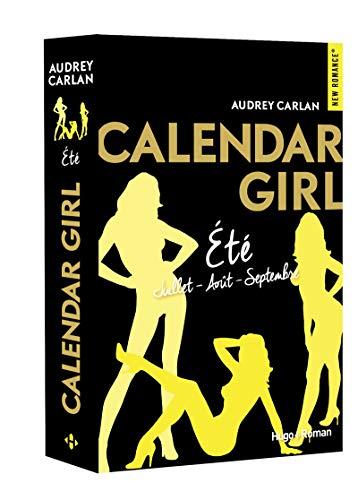 Calendar Girl Eté - Juillet/Août/Septembre