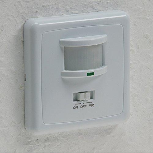 Unterputz PIR-Bewegungsmelder 160° LED geeignet - 2