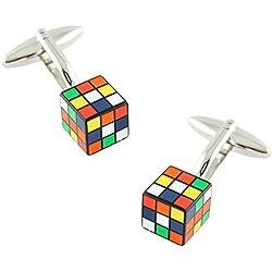 Gemelos Cubo de Rubik - para novios frikis