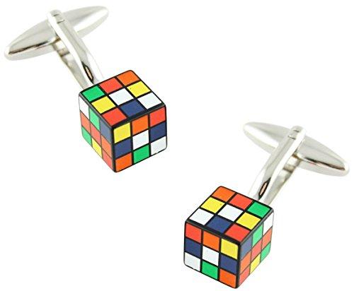 MasGemelos - Gemelos Cubo Rubik Cufflinks