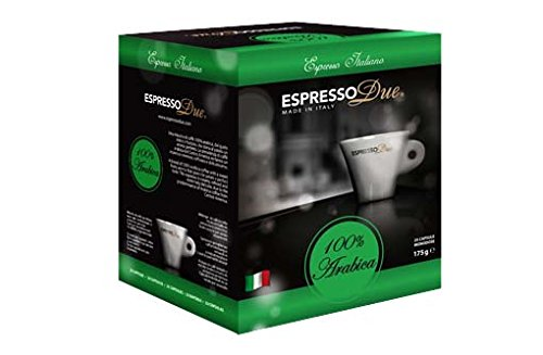Espresso Due 25 Capsule Caffe 100% Arabica per Nuove Macchine cod. 315-321