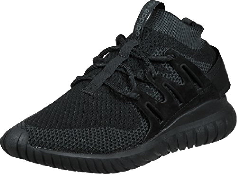 adidas Herren Tubular Nova PK Gymnastikschuhe  Black DK Grey Black