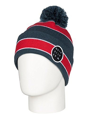 quicksilver-cappellino-con-pompon-double-up-rosso-quik-red-taglia-unica