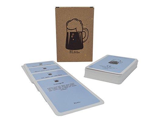 Blau. Das beste Trinkspiel für einen lustigen Abend - Partyspiel - Saufspiel - Kartenspiel für Erwachsene - Perfekt für Spieleabend oder Junggesellenabschied