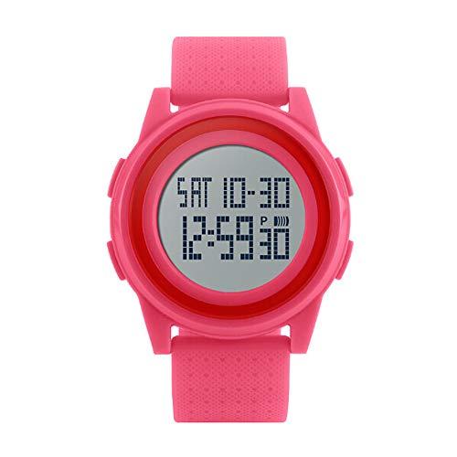 NEEKY Herren Armbanduhr,Sportuhren,Smartwatch,Für Unisex Fitness Uhren - Wasserdichte Multifunktions große Skala Frauen Elektronische Uhr Watch