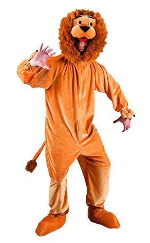 Maskottchen Overall Kostüm Löwe - Boland 88104 Erwachsenenkostüm Löwe Maskottchen, XL