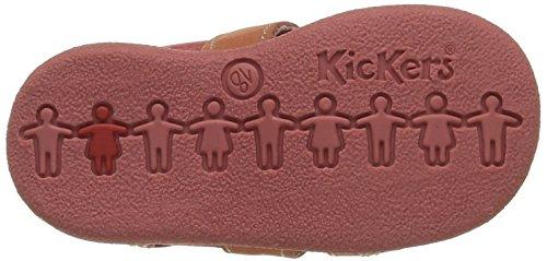 Kickers Babysun Unisex Baby Lauflernschuhe Rot - Rouge (Rouge/Rose)