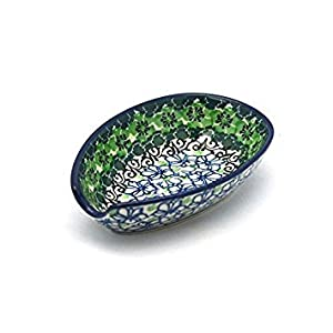 Polish Pottery Spoon Rest – Kiwi