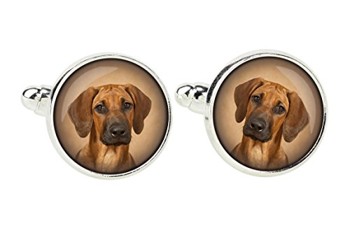 Rhodesian Ridgeback, Manschettenknöpfe für Hundeliebhaber, Foto-Schmuck, Schmuck für Männer
